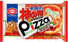 亀田の柿の種ピッツァ