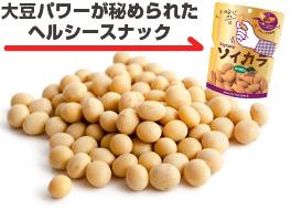 大豆パワーが秘められたヘルシースナック