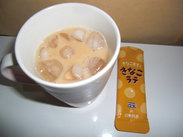 チロルチョコ×日東紅茶 きなこラテ 5個