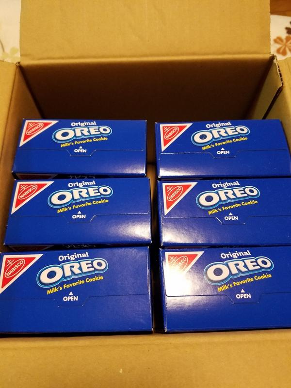 オレオ バニラクリーム 8箱