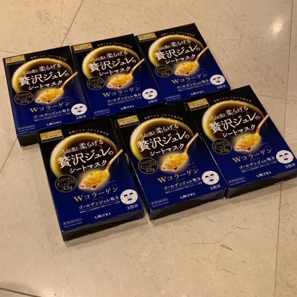 プレミアムプレサ ゴールデンジュレマスク コラーゲン  6箱
