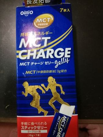 MCT CHARGE ゼリー 3箱