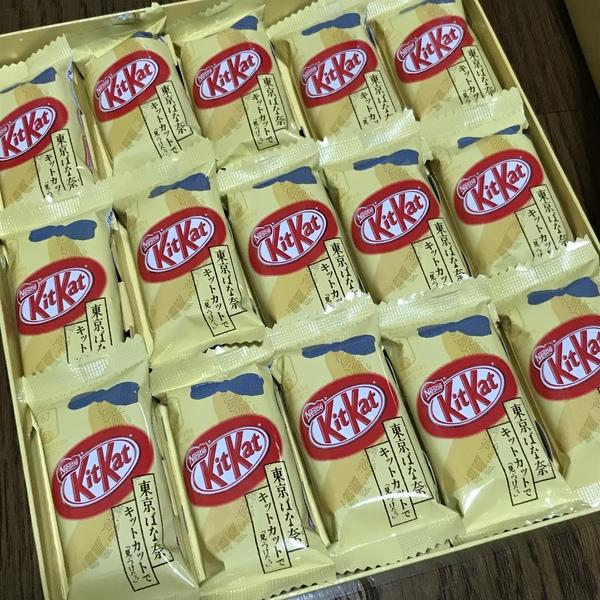 キットカット ミニ 東京ばな奈味 15枚入り×3箱