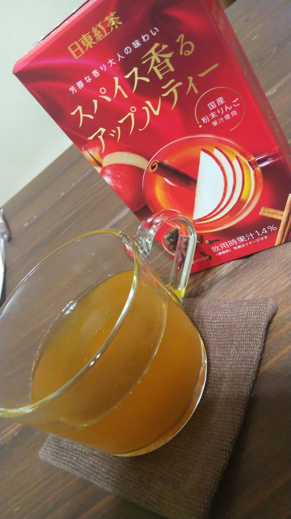 日東紅茶 スパイス香るアップルティー 12箱