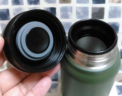 ステンレスボトル マグタイプ 0.4L(3色のうち1本)