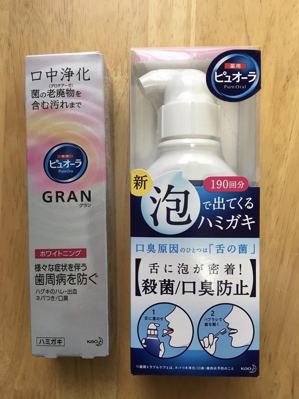 薬用ピュオーラ 泡で出てくるハミガキ/薬用ピュオーラ GRAN(グラン)ホワイトニング