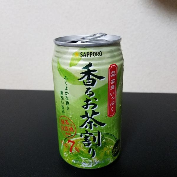 サッポロ 茶房いっぷく香るお茶割り 24本