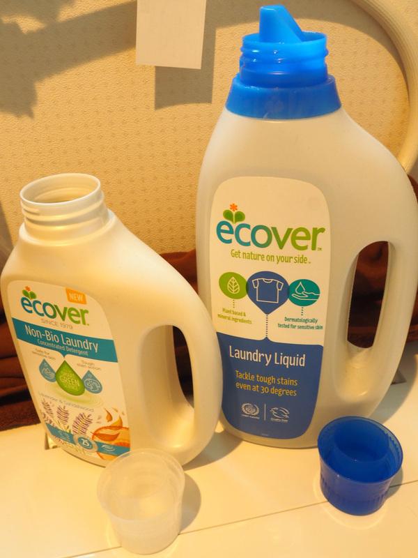 エコベール ランドリーリキッド 濃縮タイプ(洗たく用液体洗剤)