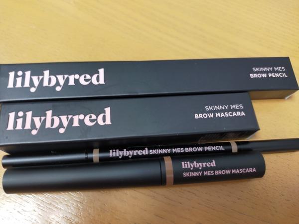 lilybyred(リリーバイレッド) Skinny mes Brow Mascara/Pencil  #1 ライトブラウン
