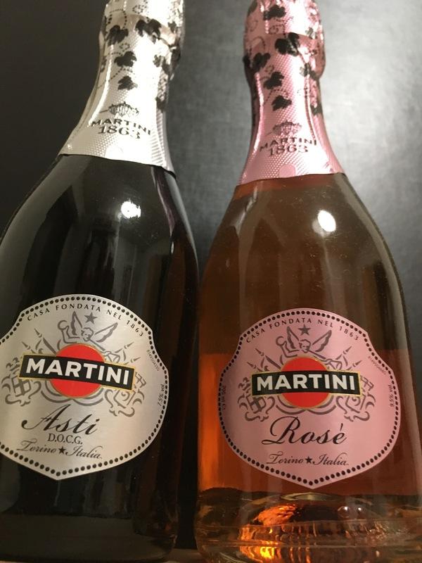 マルティーニ アスティ・スプマンテ 200ml/ロゼ 200ml 各3本