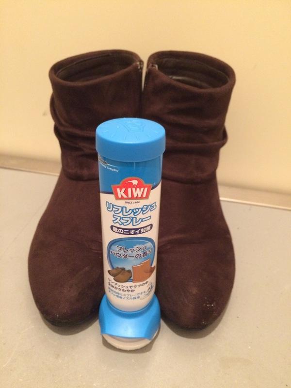 KIWI(キィウイ)  リフレッシュスプレー 2本/エリート液体靴クリーム(黒用) 1個