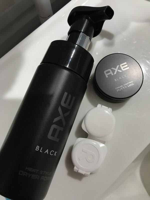 AXE BLACK ヘアスタイリング剤 2種(ナチュラル)