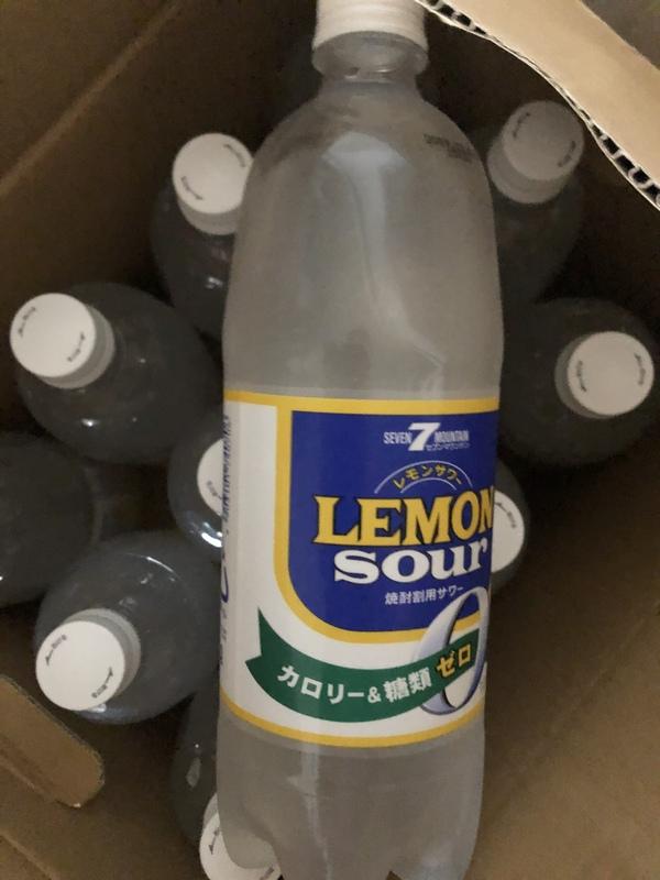 セブンマウンテン レモンサワー1L×12本(ノンアルコール)