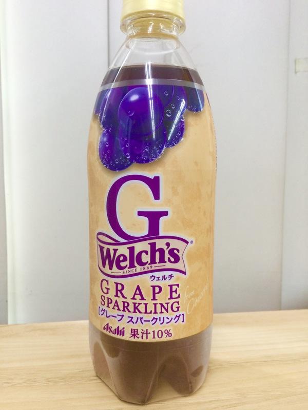 「Welch's」 G <グレープスパークリング> 500ml×12本セット