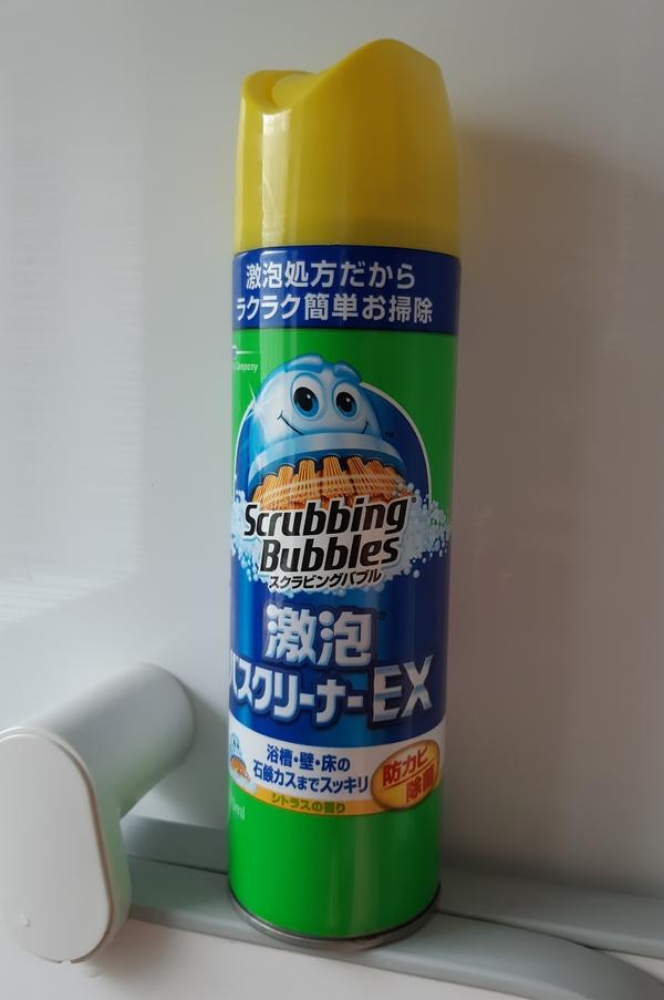 スクラビングバブル 激泡バスクリーナーEX×12本