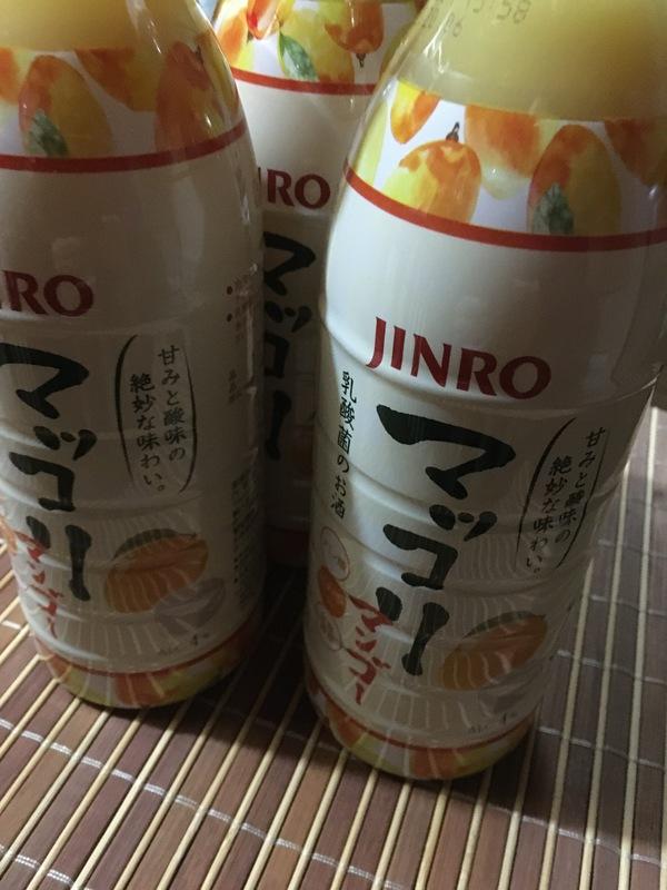 JINRO マッコリ マンゴー 4本