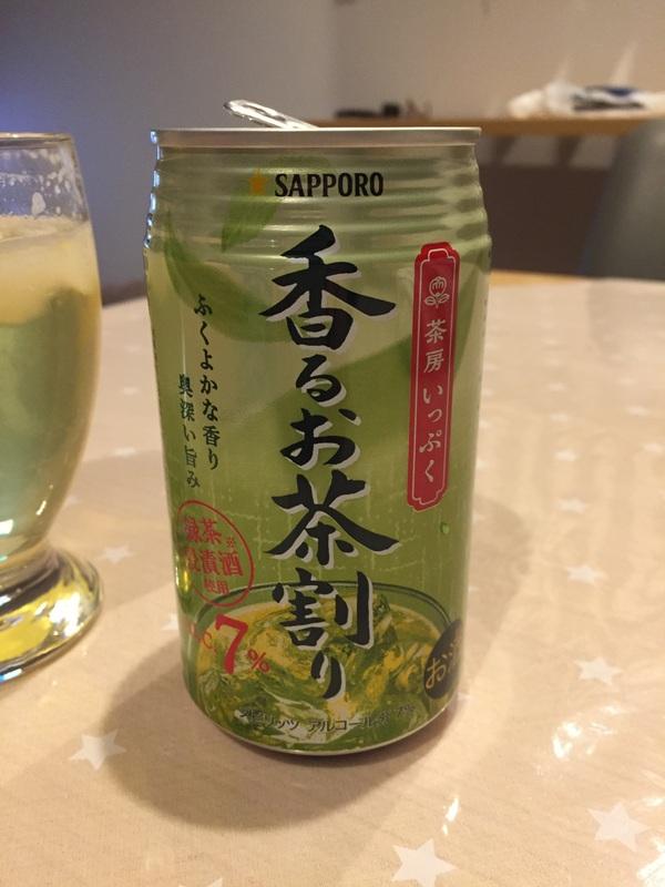 サッポロ 茶房いっぷく香るお茶割り 12本