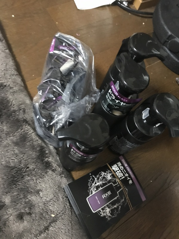 AXE BLACK ヘアスタイリング剤 2種(ジェル)