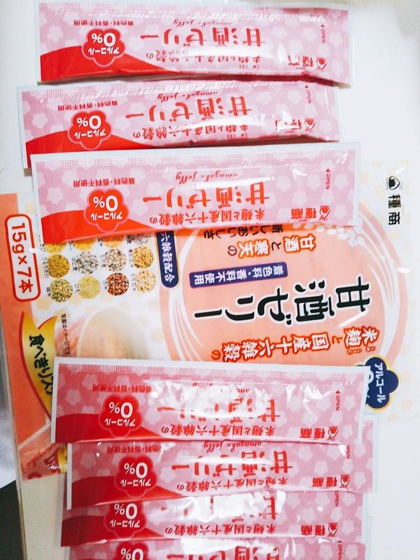 米麹と国産十六雑穀の甘酒ゼリー(15g×7本) 5袋