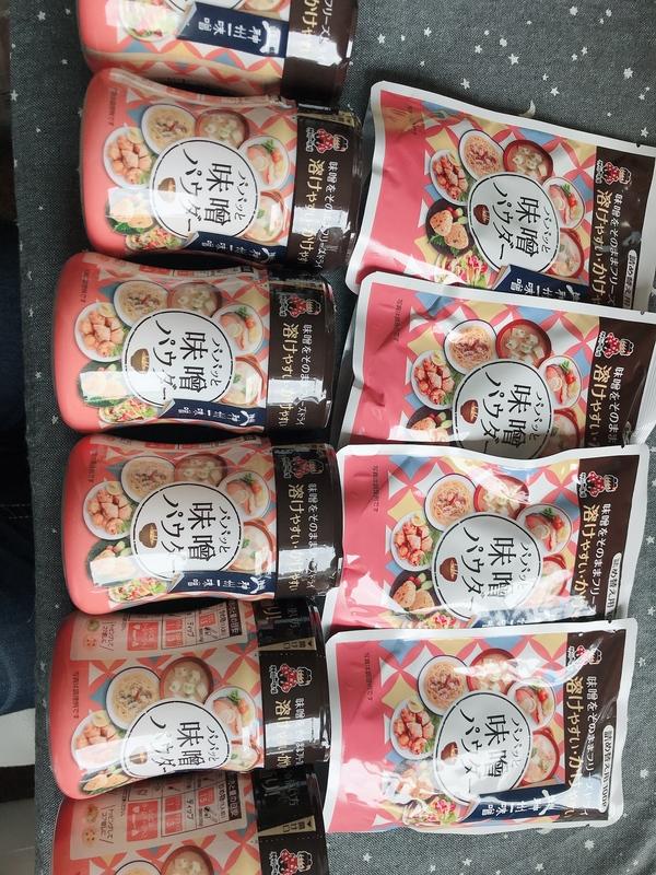 パパッと味噌パウダー ボトル6本/詰め替え用 4袋
