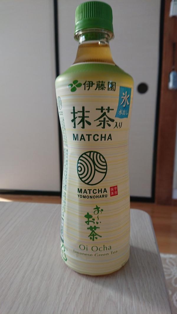 お〜いお茶 氷水出し 抹茶入り 600ml×24本