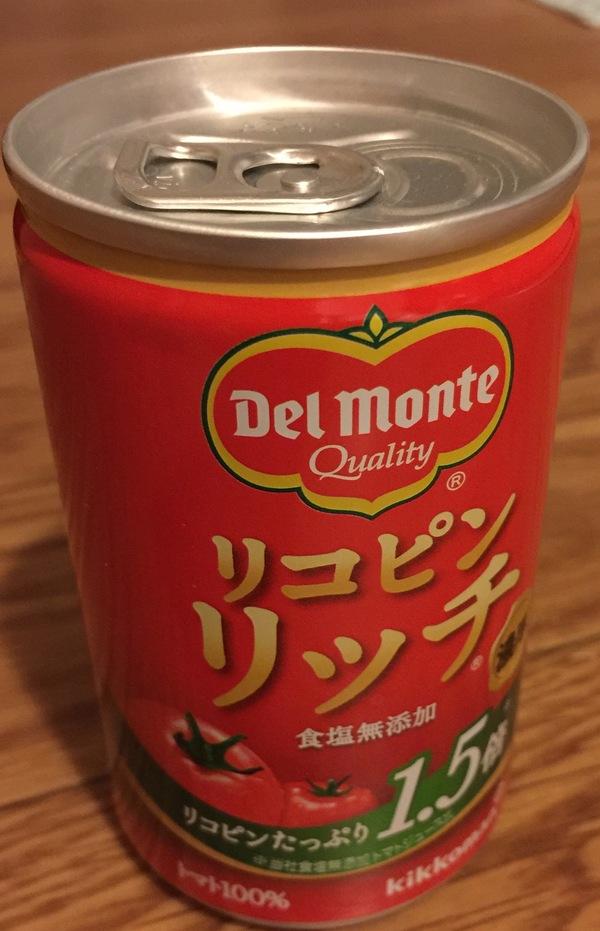 デルモンテ リコピンリッチ トマト飲料 160g缶 12本