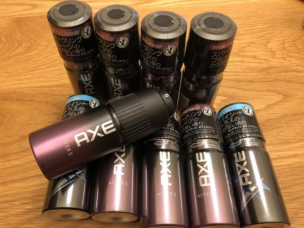 AXE フレグランスボディスプレー 2種 10本