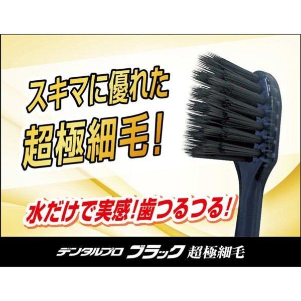 デンタルプロ ブラック超極細毛コンパクト 6本