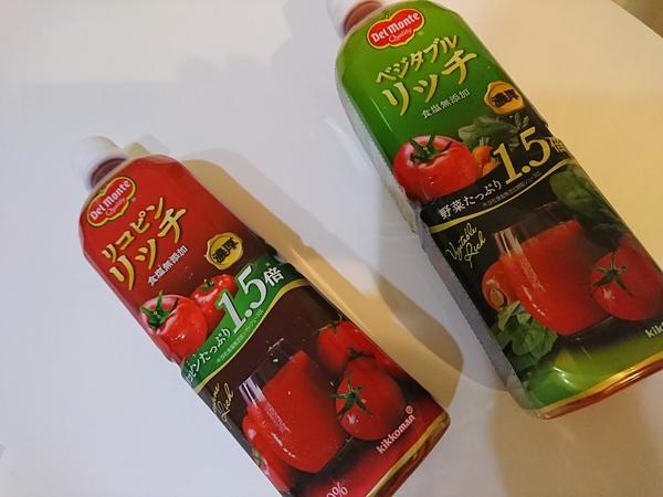 デルモンテ リコピンリッチ トマト飲料/デルモンテ ベジタブルリッチ 野菜飲料