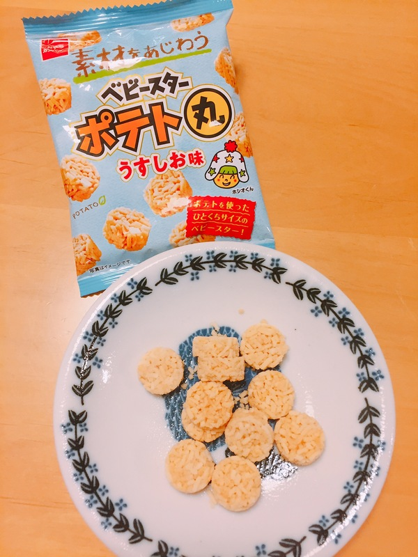 ベビースターポテト丸(うすしお味)6袋入り 12パックセット