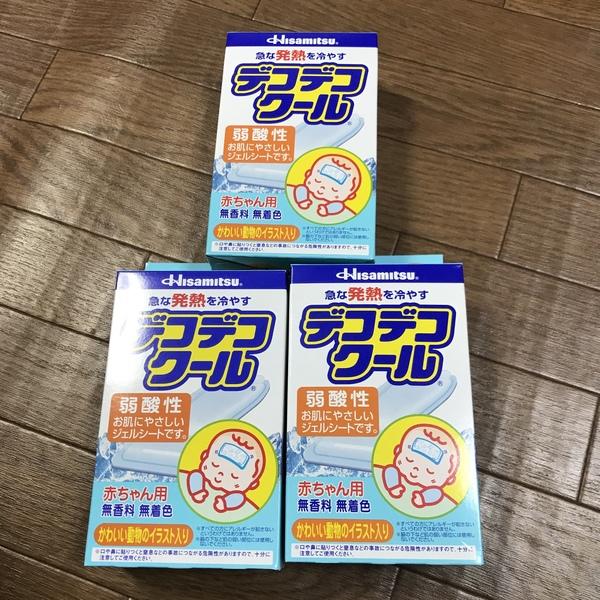 デコデコクール赤ちゃん用(0〜2才向け)12枚入×3箱