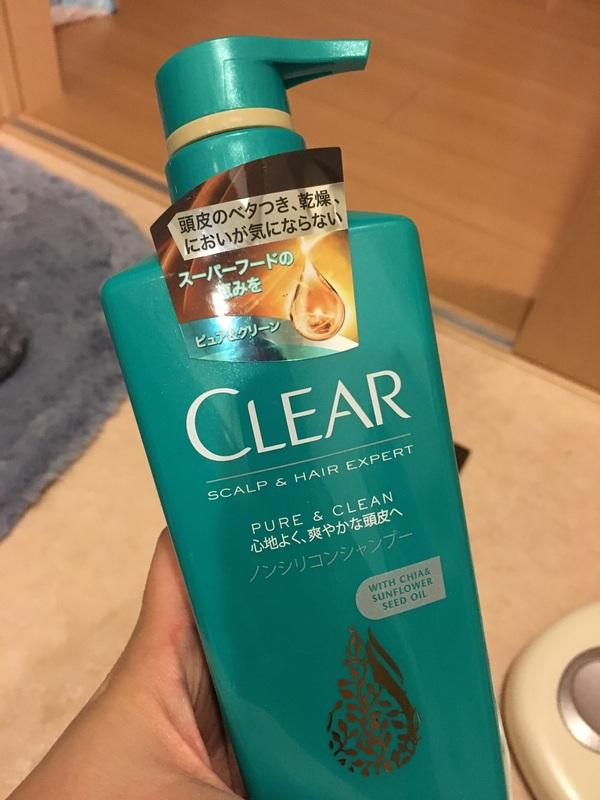 クリア ピュア&クリーン シャンプー(本体)×5