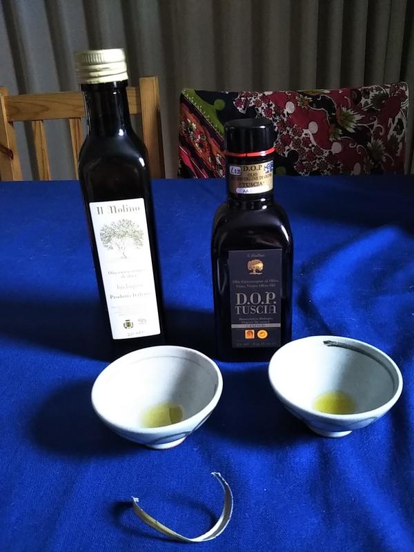 イタリア産エキストラバージン・オリーブオイル2種