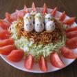家族もお気に入りの鳥の巣サラダ