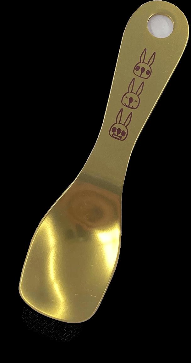 ポッケのアイスクリームスプーン