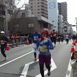 仮装でフルマラソン完走!