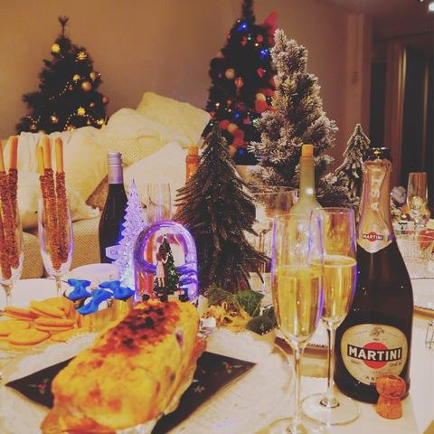 クリスマスパーティーにも欠かせないMartini