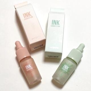 お化粧下地の「ペリペラ インクコレクター 2種」ちょっと使うだけで肌の色や質感が変わるのでこれはとってもオススメです