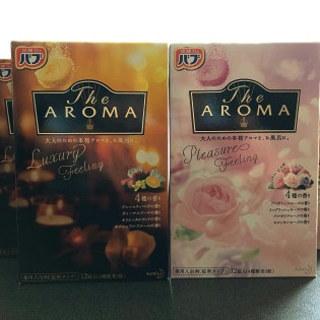 花王「バブ The Aroma 2種6点」大人のための本格アロマを、お風呂に♪1箱で4種類の香りが楽しめるのもいいですね!