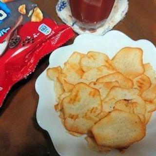 「リッツベイクドチップス」をタメす!夜が待ちきれず、届いてすぐに食べてみたよ。