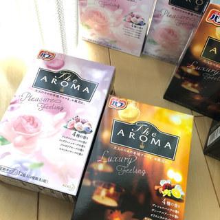 お風呂で本格アロマ「バブ The Aroma」1箱で4種類の香りが楽しめるのでその日の気分でセレクト。どれも優しい香りで1日の疲れを癒してくれる感じ♪