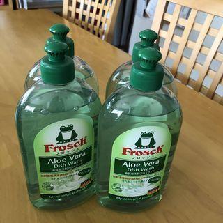 「フロッシュ®食器用洗剤 アロエヴェラ」さわやかで夏向きな香りがします