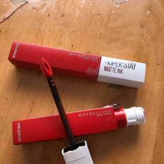 「メイベリン ニューヨーク SPステイ マットインク」マスク生活じゃなくなってもこれは使えます
