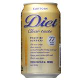 ダイエット<生>クリアテイスト 350ml缶×12本セット