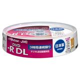 録画用DVD-R DL(片面2層)ディスク(10枚パック)