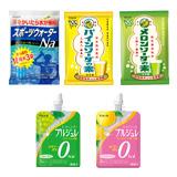 スポーツウォーターNa×5袋/ソーダの素 2種×各2袋/プルジュレ 2種×各1個