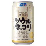ソウルマッコリ 350ml缶 24本セット