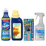 除菌クリーナードメスト/クリザール フラワーフード/ダイヤモンドパッドS&洗剤能力PRO