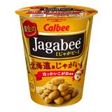 黄金のJagabee(じゃがビー) 北海道産じゃがいも ほっかいこがね使用 うす塩味 12個セット