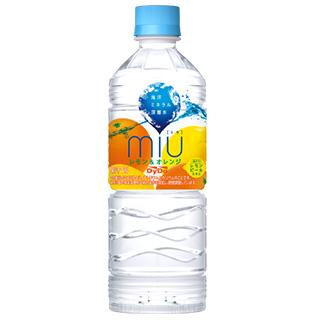 miu レモン&オレンジ 550ml 12本セット